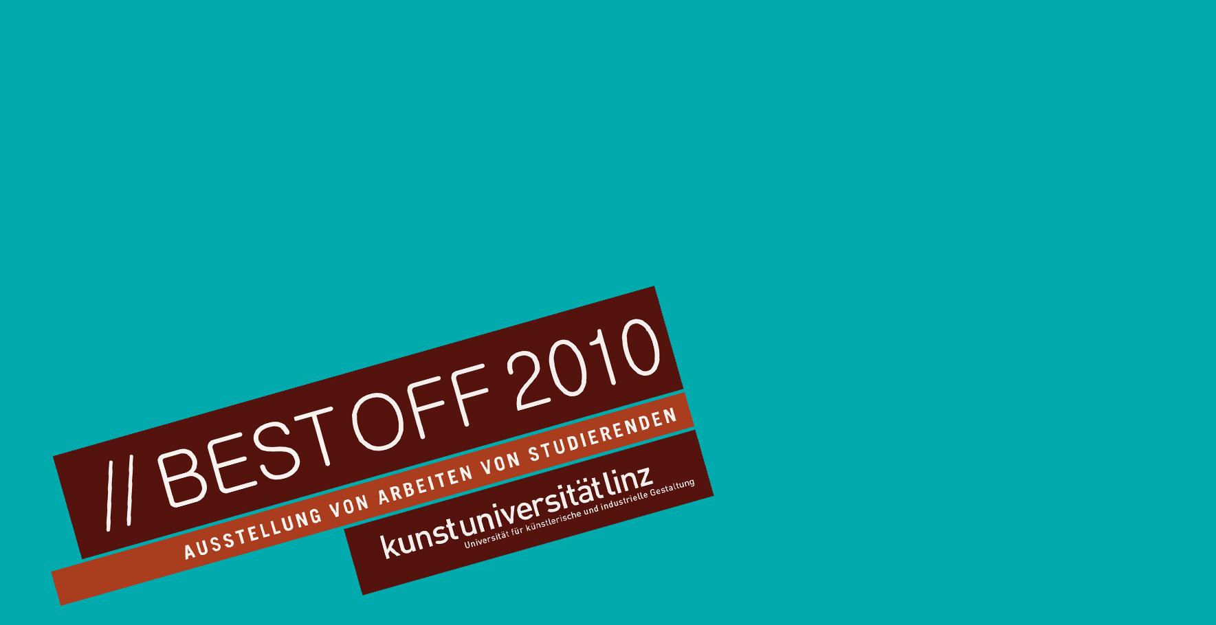 BEST OFF 2010 - Einladung