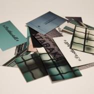 """Postkastell"" Visitenkarten"